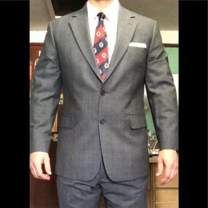 Brooks Brothers Full Suit Grey